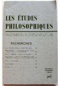 Etudes philo