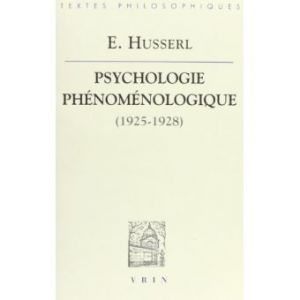 Psychologie-phenomenologique