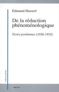 Réduction phénoménologique